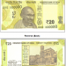 The image and salient features of ₹ 20 denomination banknote in the Mahatma Gandhi (New) Series are as